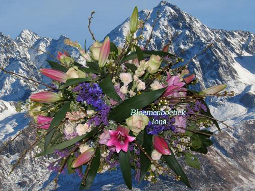 uitvaart bloemstuk Vaarwel lieverd