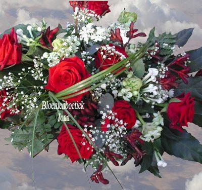 Langwerpig Trouwboeket bloemenboetiek Iona