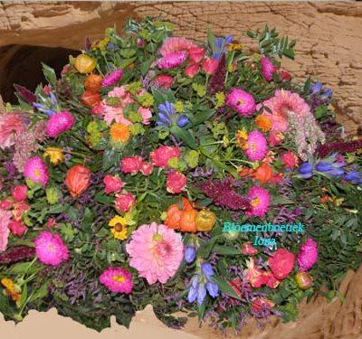 Crematie bloemstuk bestellen