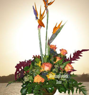 bloemstuk gefeliciteerd Bloemendaal