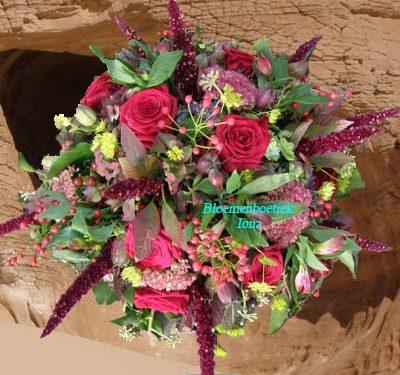 Crematie bloemstuk bezorgen