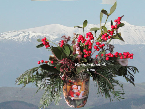 Kerststukken-Bloemenboetiek Iona