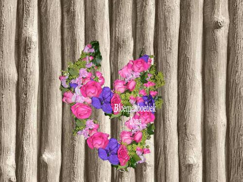 Bloemen halskrans bestellen