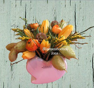 Paas bloembakje/bestellen