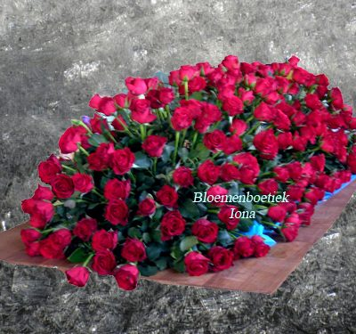 Rode Rozen bed bestellen