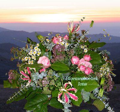 Uitvaart-bloemstuk-Wij zullen je missen