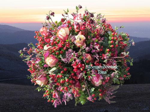 Uitvaart-bloemstuk