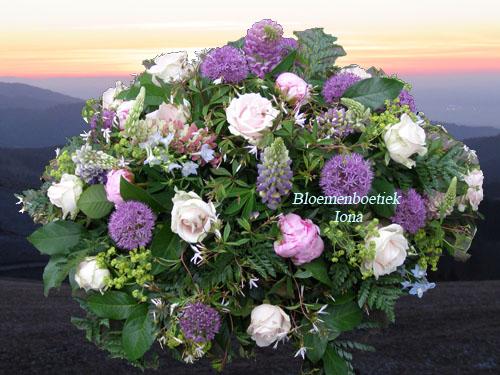 Uitvaart-bloemstuk-