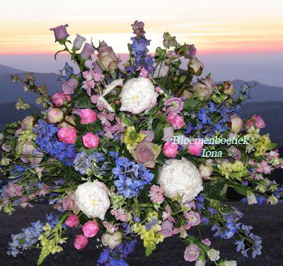 Uitvaart-bloemstuk-bloemendaal