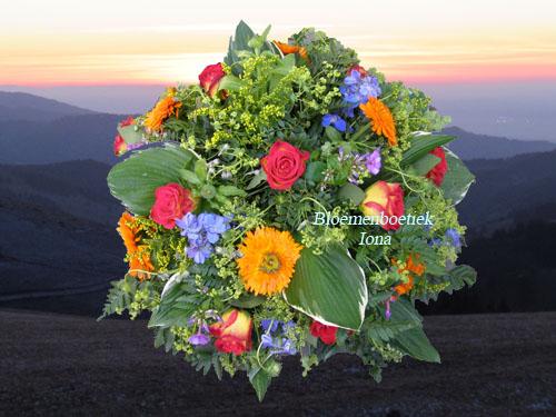 Uitvaart-bloemstuk bestellen