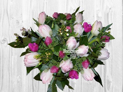 Tulpen & Anemonen boeket bestellen