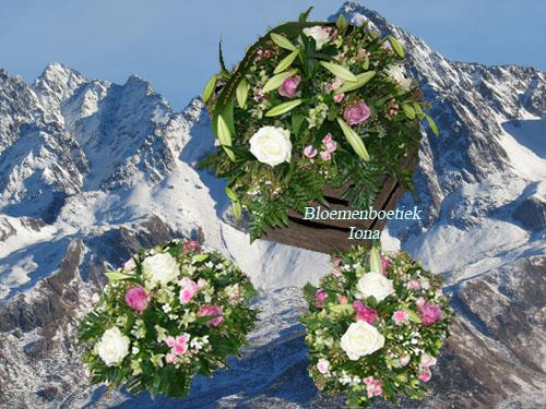 Afscheid bloemstukken bestellen