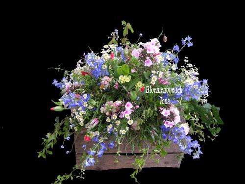 Begrafenis-bloemstuk bestellen