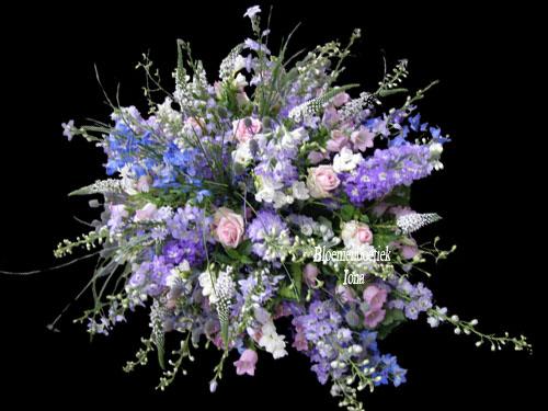 Begrafenis-bloemstuk persoonlijk op maat