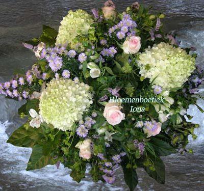 Dag mijn meisje begrafenis bloemstuk bestellen
