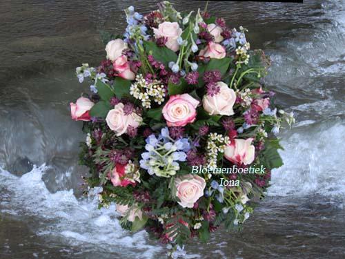 Vaarwel mijn liefste crematie bloemstuk