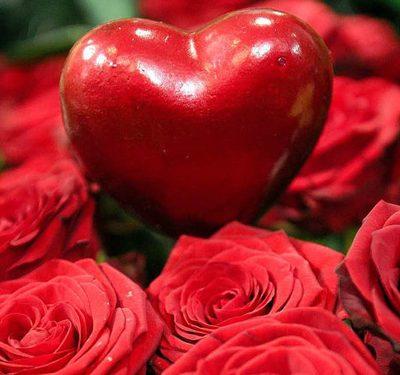 Valentijn-bloemen / Bloemenboetiek Iona