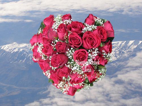 Valentijn-bloemen/bloemenboetiek Iona