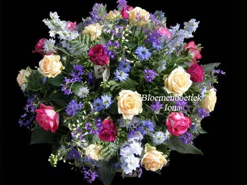 Begrafenis bloemstuk laten maken