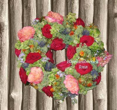 Bloemenkrans bestellen bloemenwinkel