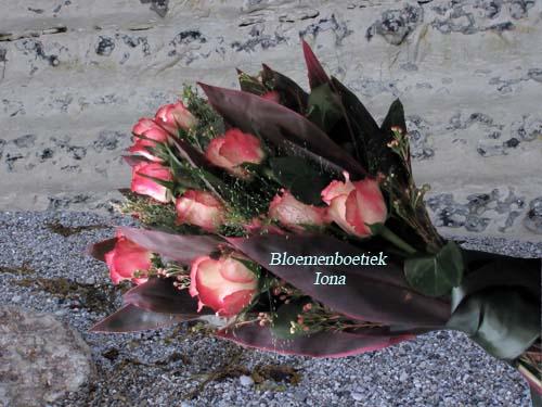 Rouwboeket bloemenwinkel