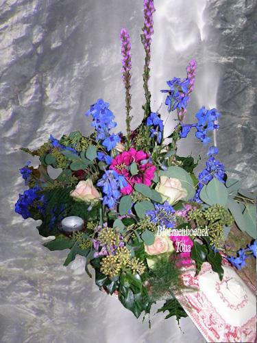 verjaardag bloemstuk bestellen Overveen