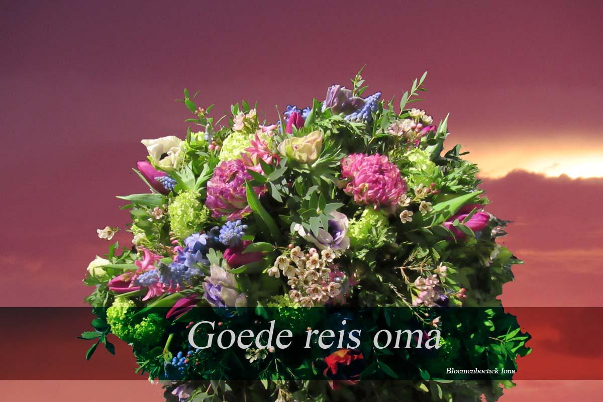 Goede-reis-oma /bloemenboetiek Iona