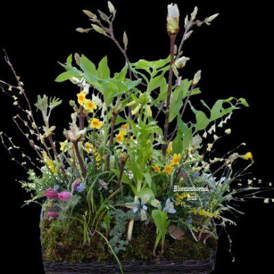 uitvaart bloemen Voort zul je blijven doorbloeien in bloemenpracht