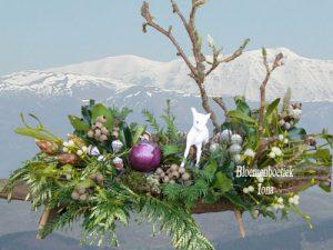 Langwerpig kerststuk