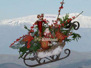 Kerst/bloemenboetiek Iona