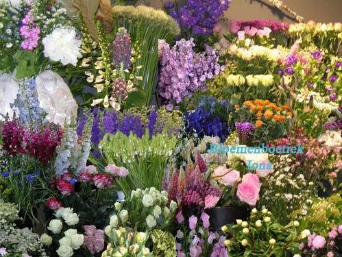 Bos bloemen / Bloemenboetiek Iona