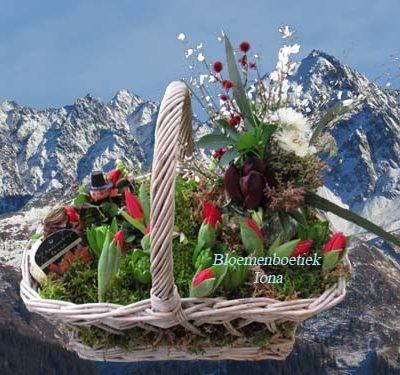Veel geluk in het nieuwe jaar met de mooiste bloemen