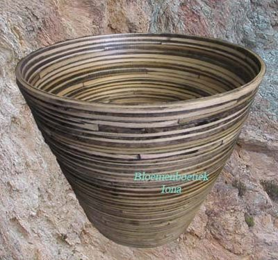 Bamboe plantenpot kopen